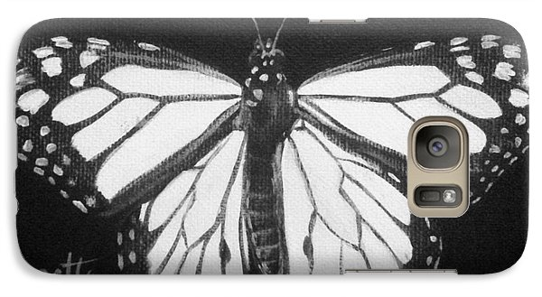 Monarch Butterfly Galaxy S7 Case