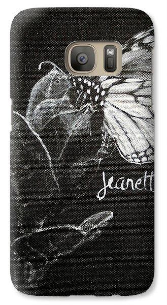 Monarch Butterfly On Milkweed Galaxy S7 Case