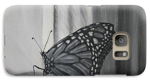 Monarch In The Window Galaxy S7 Case