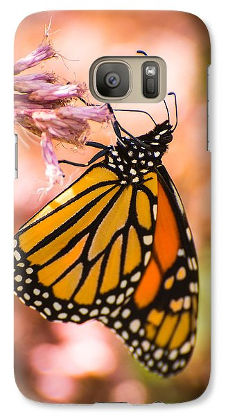 Galaxy Case featuring the photograph Monarch by Janis Knight