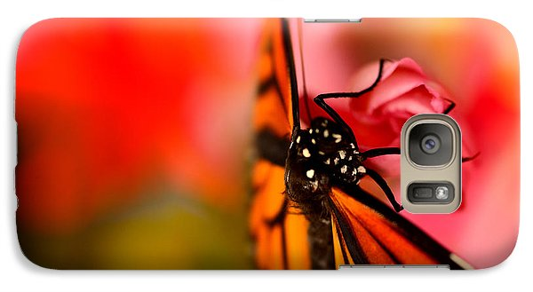 Galaxy Case featuring the photograph Monarch Morning by Susan D Moody