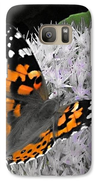 Galaxy Case featuring the photograph Monarch by Photographic Arts And Design Studio