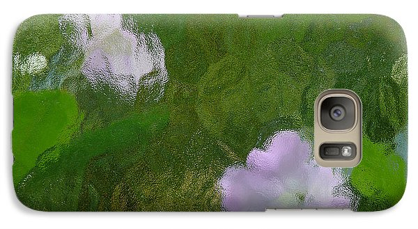 Galaxy Case featuring the photograph Monet by Evelyn Tambour
