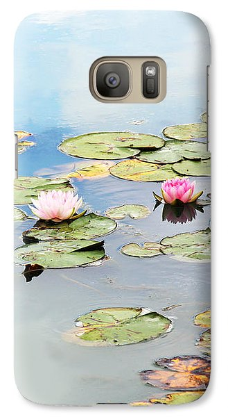 Galaxy Case featuring the photograph Monet's Garden by Brooke T Ryan