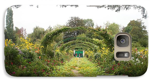 Galaxy Case featuring the photograph Monet's Garden Giverny by Kristine Bogdanovich