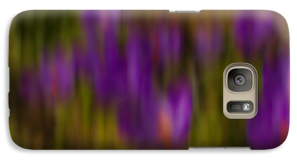 Galaxy Case featuring the photograph Monet's Garden by Sandi Mikuse