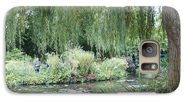 Galaxy Case featuring the photograph Monet's Japanese Bridge by Kristine Bogdanovich