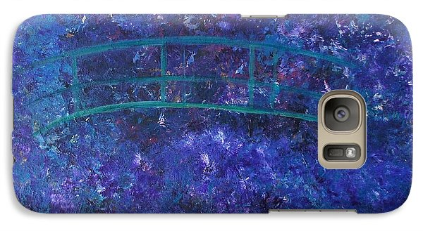 Galaxy Case featuring the painting Monet's Place by Kristine Bogdanovich