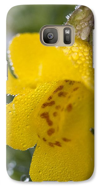 Galaxy Case featuring the photograph Monkey In Yellow by Sonya Lang
