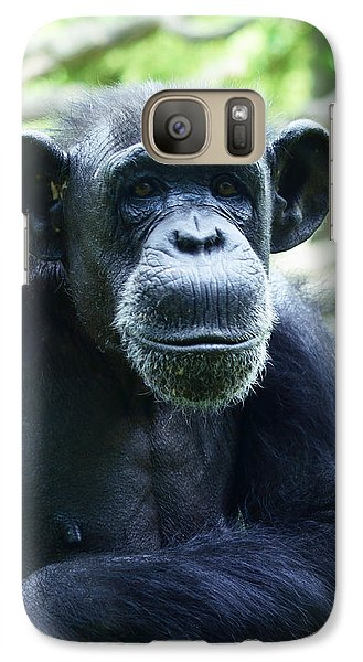 Galaxy Case featuring the photograph Monkey See Monkey Do by B Wayne Mullins