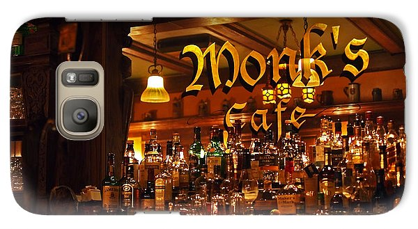 Monks Cafe Galaxy S7 Case