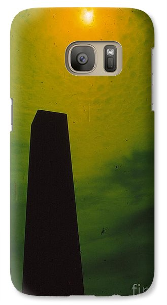 Galaxy Case featuring the photograph Monolith by Jesse Ciazza