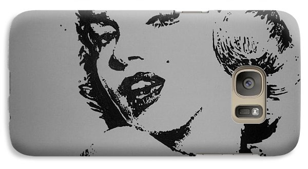 Galaxy Case featuring the painting Monroe by Cherise Foster