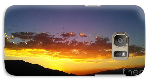 Galaxy Case featuring the photograph Monsoon Sunset by Chris Tarpening