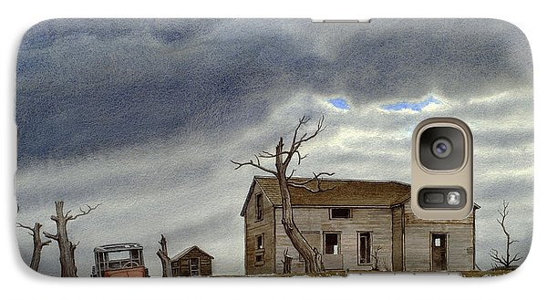 Truck Galaxy S7 Case - Montana Abandoned Homestead by Paul Krapf