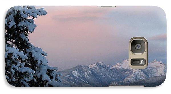 Galaxy Case featuring the photograph Montana Winter by Joseph J Stevens