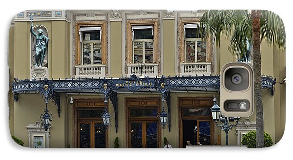 Galaxy Case featuring the photograph Monte Carlo Casino by Allen Sheffield
