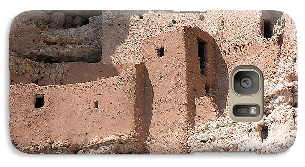 Galaxy Case featuring the photograph Montezuma Castle 2 by Tom Doud