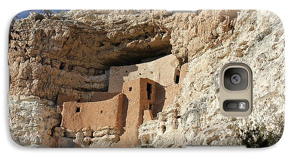 Galaxy Case featuring the photograph Montezuma Castle by Penny Meyers