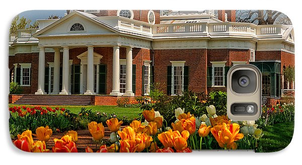 Galaxy Case featuring the photograph Monticello by Nigel Fletcher-Jones