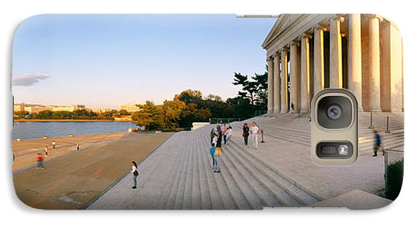 Monument At The Riverside, Jefferson Galaxy S7 Case by Panoramic Images