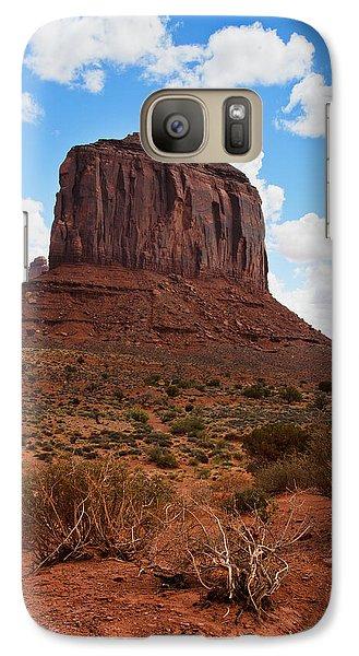Monument Valley Monolith West Mitten Butte Galaxy S7 Case