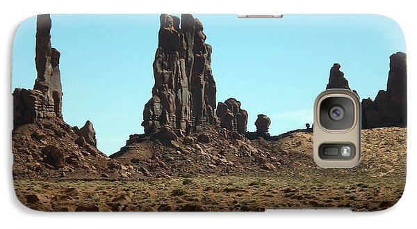 Galaxy Case featuring the photograph Monuments by Fred Wilson