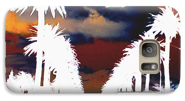 Galaxy Case featuring the photograph Moody Blues by Linda Hollis