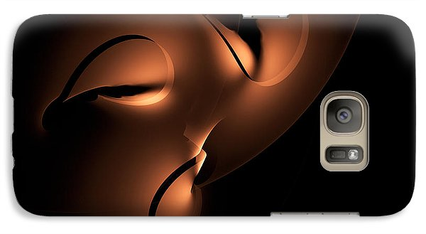 Galaxy Case featuring the digital art Moody by GJ Blackman