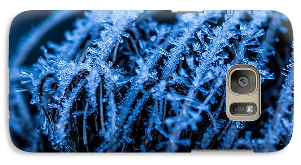 Galaxy Case featuring the photograph Moody In Blue by Julie Clements