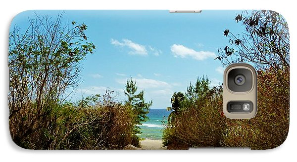 Galaxy Case featuring the photograph Moon Bay Walk by Amar Sheow