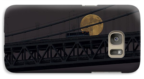 Galaxy Case featuring the photograph Moon Bridge Bus by Kate Brown