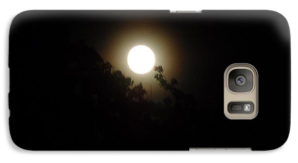 Galaxy Case featuring the photograph Moon Glow by Philomena Zito