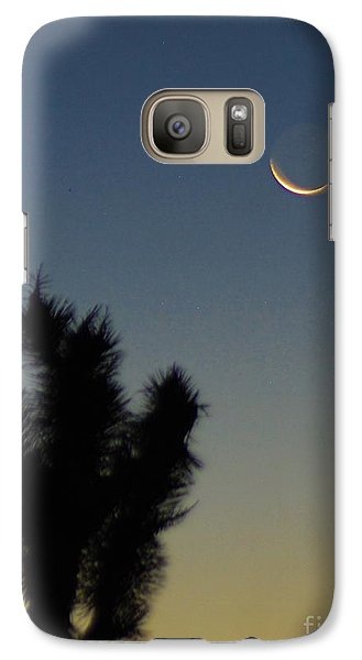 Galaxy Case featuring the photograph Moon Kissed by Angela J Wright