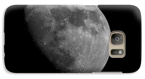 Galaxy Case featuring the photograph Moon Phase by Dennis Bucklin