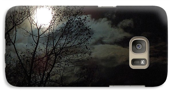 Galaxy Case featuring the photograph Moon Rise by Pete Trenholm
