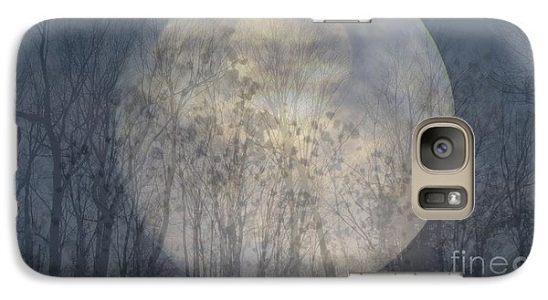 Galaxy Case featuring the photograph Moon Shadow by France Laliberte