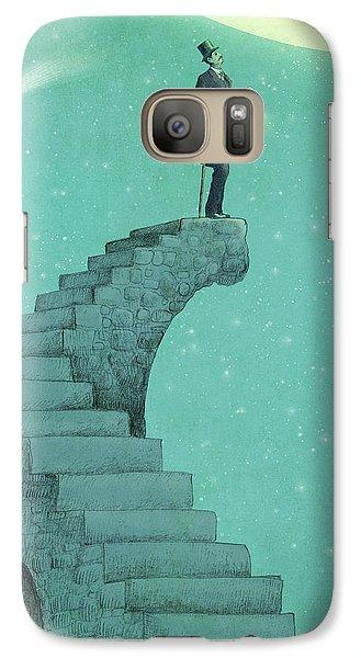 Moon Steps Galaxy S7 Case