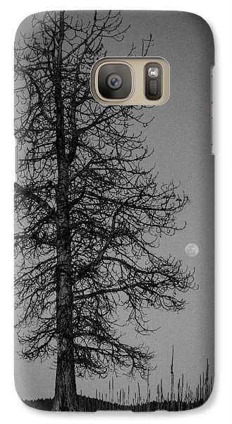Galaxy Case featuring the photograph Moon Tree by Jan Davies