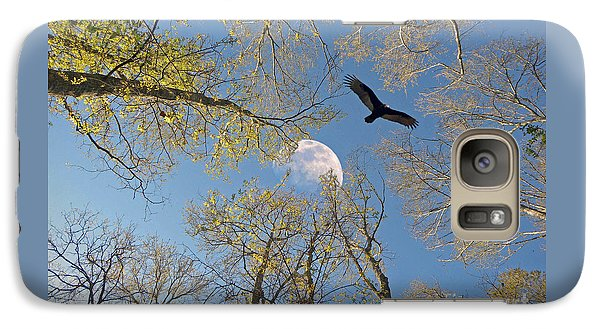 Galaxy Case featuring the photograph Moon Trees by Savannah Gibbs