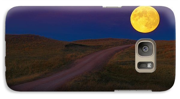 Galaxy Case featuring the photograph Moon Way by Kadek Susanto