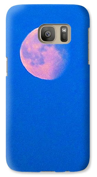 Galaxy Case featuring the photograph Moon by Yury Bashkin