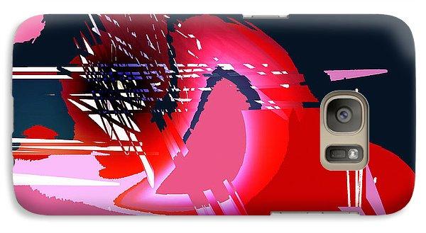 Galaxy Case featuring the digital art Moonbird by Andrew Penman