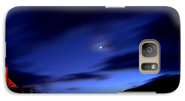 Galaxy Case featuring the photograph Moonlight by Guy Hoffman