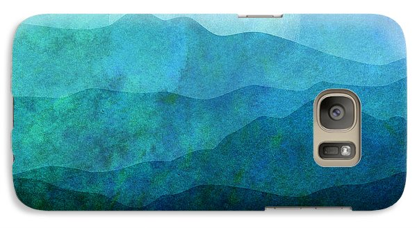 Mountain Galaxy S7 Case - Moonlight Hills by Gary Grayson