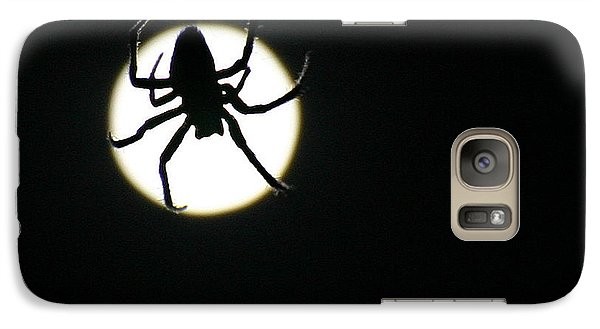 Galaxy Case featuring the photograph Moonlight Hunter by Christopher McKenzie