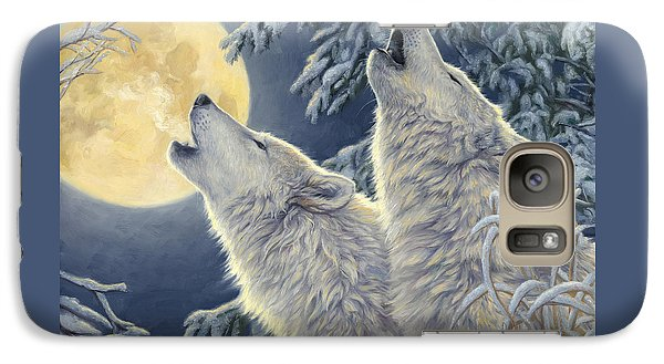 Moonlight Galaxy Case by Lucie Bilodeau