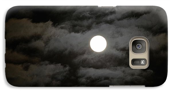 Galaxy Case featuring the photograph Moonlight Magic by Cathy Shiflett