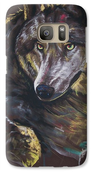 Galaxy Case featuring the pastel Moonlight Prey by Peter Suhocke