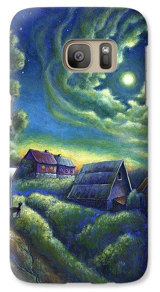 Moonlit Dreams Come True Galaxy S7 Case